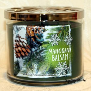 Bath and Body Works Mahogany Balsam Candle - 14.5oz