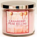 Slatkin and Co. Cranberry Pear Bellini Candle - 14.5 oz