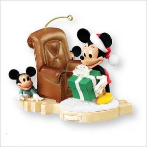 Disney Hallmark Keepsake Hide - N - Peek Mickey Mouse Ornament