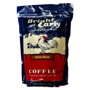 Bright and Early Native Pecan Ground Coffee 2.5 Lbs