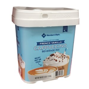 Members Mark French Vanilla Cappuccino Mix 3 lbs