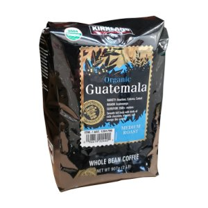 Kirkland Guatemala Organic Whole Bean Coffee 2 LBS