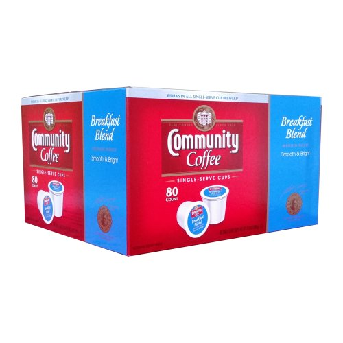 Community Coffee Breakfast Blend Single Serve 80 Count - Click Image to Close