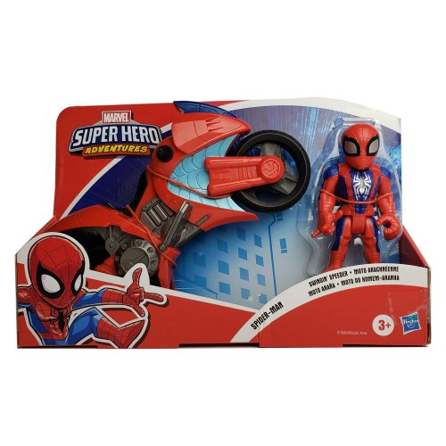 Spider-Man Swingin Speeder Marvel Super Hero Adventures - Click Image to Close