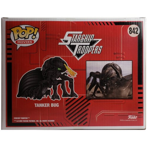 Starship Troopers Tanker Bug 6-Inch Deluxe Pop! Vinyl Figure - Click Image to Close