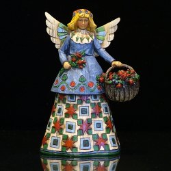 Jim Shore - Angel With Flowers - 105169 - Figurine