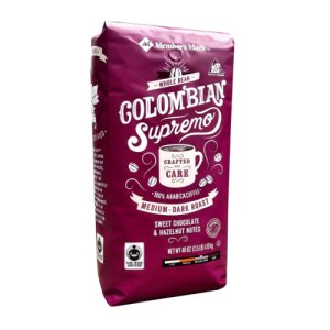 Members Mark Colombia Supremo Whole Bean Coffee 2.5 lb