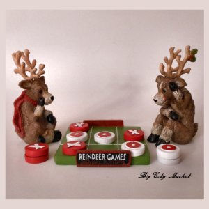 Reindeer Games Table Decoration