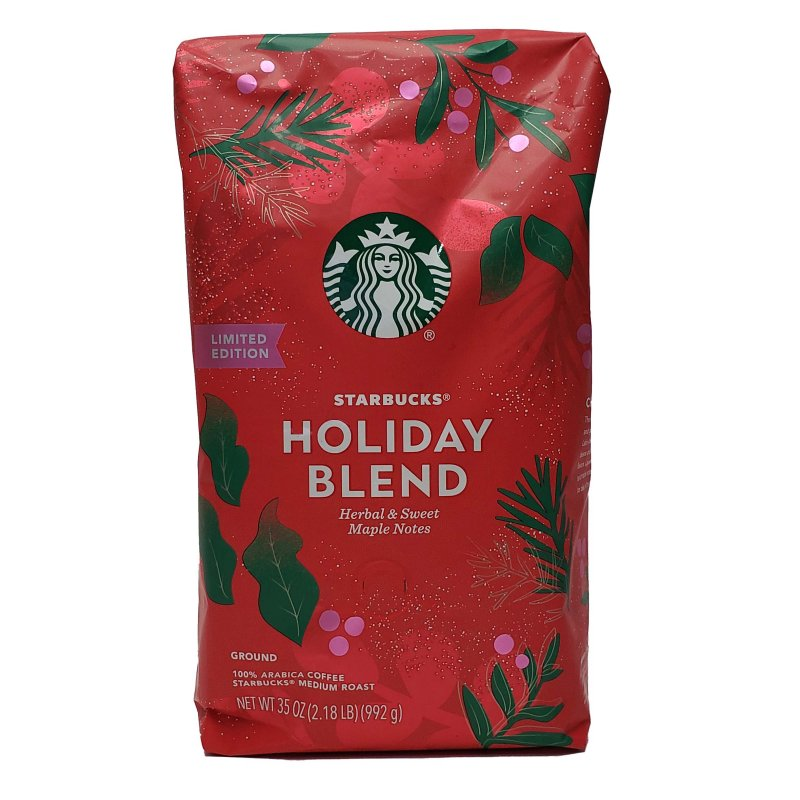 Starbucks Holiday Blend Ground Coffee 35 oz