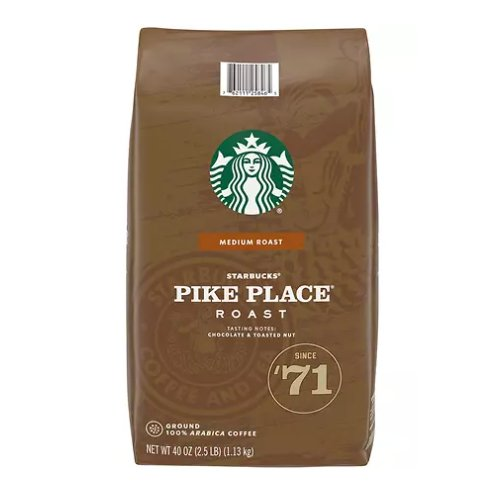 Starbucks Pike Place Ground Coffee 40oz