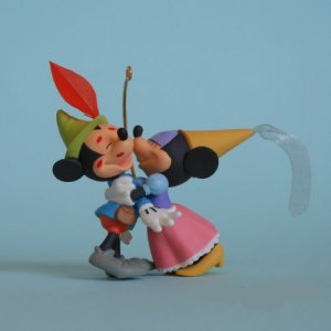 Disney Hallmark Brave Little Taylor Mickey Minnie Ornament
