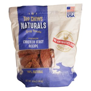 Top Chews Naturals Dog Treats Chicken Jerky 3 Lb Bag